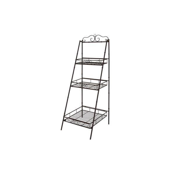 Metal 3-tier Shelves (59-inchH x 21-inchW) -  UMA Enterprises, 41404