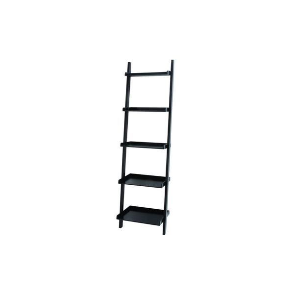wood leaning shelf 69 inches high x 20 inches wide free shipping today 19028448. Black Bedroom Furniture Sets. Home Design Ideas