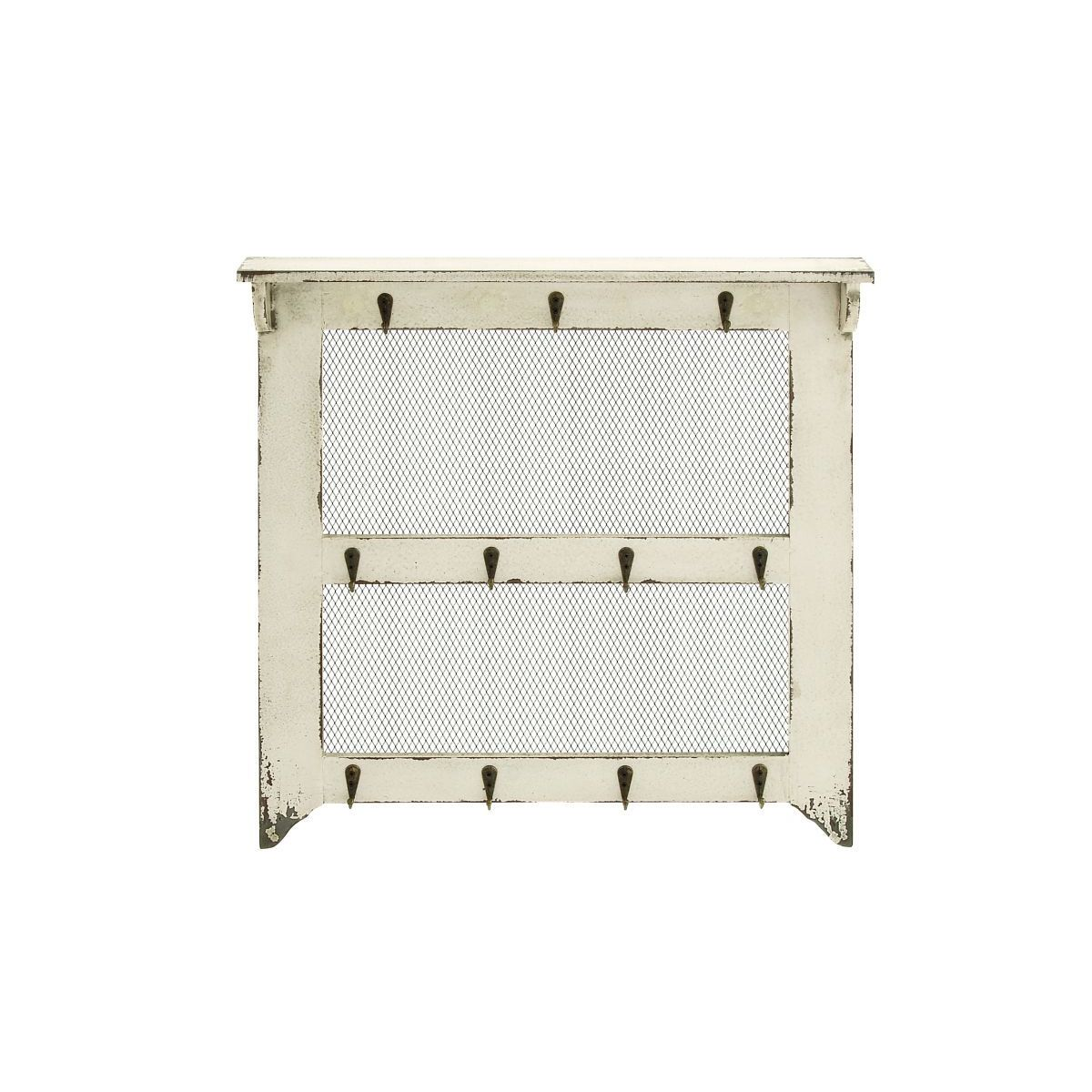 Wood/Metal 19-inch Wide x 20-inch High Wall Hanger