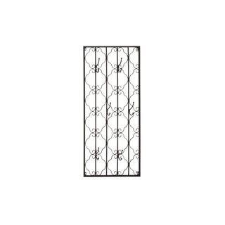 Metal 22-inch x 48-inch Wall Hook Unit
