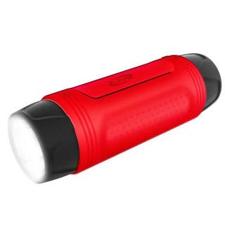 iLive Water Resistant Flashlight with Built In Bluetooth Speaker|https://ak1.ostkcdn.com/images/products/12177807/P19028518.jpg?impolicy=medium
