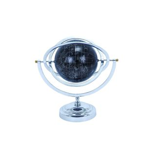 Modern Reflections 16-inch Aluminum Globe