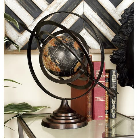 Aluminum Globe ( 18-inchH x 20-inchW)