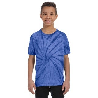 Boy's Tie-Dyed Spider Royal T-shirt