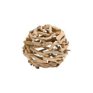 Driftwood 9-inch Deco Ball - Thumbnail 0