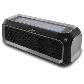 iLive Solar Powered Water Resistant Bluetooth Speaker