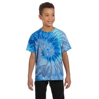 Boys' Jerry Blue Tie-Dyed T-shirt