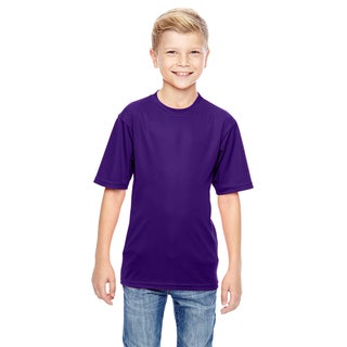 Wicking Boys' Purple T-Shirt