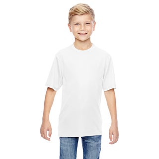 Wicking Boys' White T-Shirt