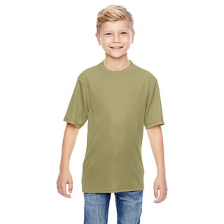Boys' Vegas Gold Polyester Wicking T-shirt