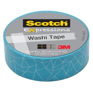 "3M C314-P28 .59"" X 393"" Cracked Expressions Washi Tape"