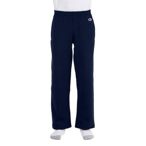 Youth Nacy Double Dry Action Fleece Open-bottom Pants
