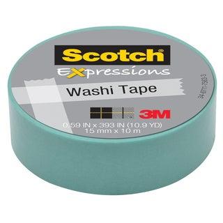 "3M C314-BLU2 .59"" X 393"" Pastel Blue Expressions Washi Tape"