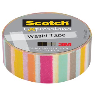 "3M C314-P37 .59"" X 393"" Blurred Lines Expressions Washi Tape"