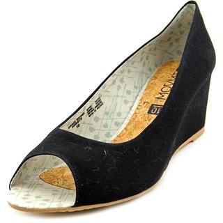 Movmt Women's 'Grace Wedge Abierto' Basic Textile Dress Shoes