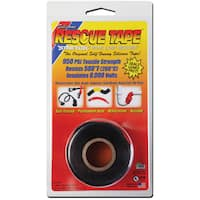 "Rescue Tape USC01 1"" X 12' Black Rescue Tape"