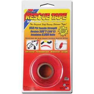 "Rescue Tape USC02 1"" X 12' Red Rescue Tape"