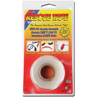 "Rescue Tape USC04 1"" X 12' Clear Rescue Tape"