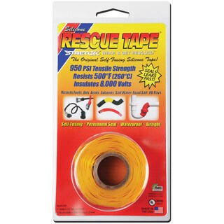 "Rescue Tape USC05 1"" X 12' Yellow Rescue Tape"