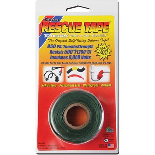 "Rescue Tape USC07 1"" X 12' Green Rescue Tape"