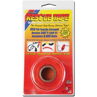 "Rescue Tape USC08 1"" X 12' Orange Rescue Tape"