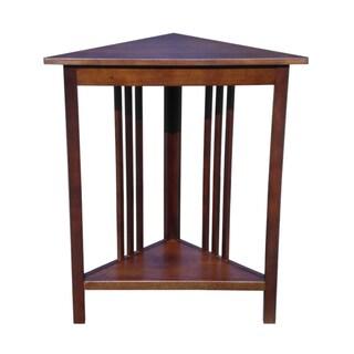 D Art Collection Home Espana Mahogany Corner Table