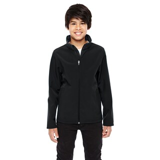 Leader Boys' Black Soft Shell Jacket