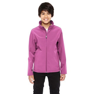 Leader Boys' Soft Shell Sport Charity Pink Jacket