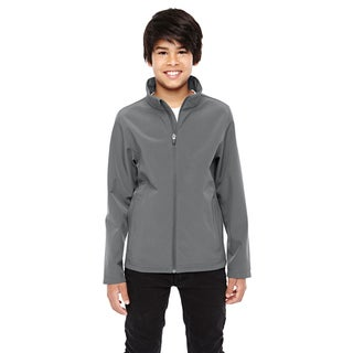 Leader Boy's Soft Shell Graphite Sport Jacket