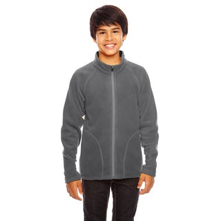 Campus Boy's Graphite Microfleece Sport Jacket
