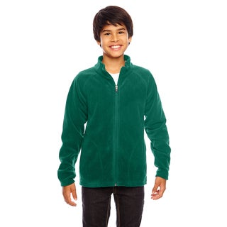 Campus Boy's Forest Microfleece Sport Jacket
