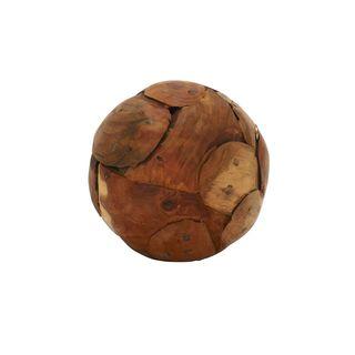 Natural Teak Wood 5-inch Ball