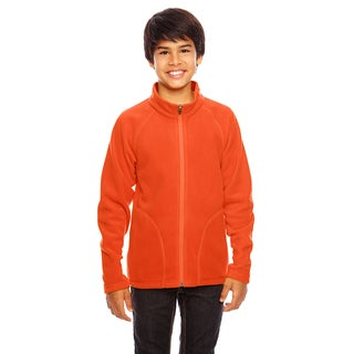 Campus Boy's Microfleece Jacket Sport Orange