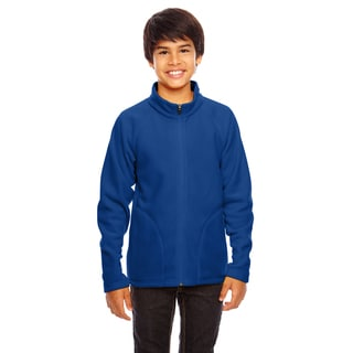 Campus Boy's Royal Microfleece Sport Jacket