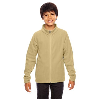 Campus Boys' Microfleece Vegas Gold Sport Jacket