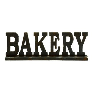 Copper Grove Backus Wood Bakery Table Sign