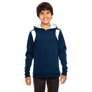 Elite Boy's Dark Navy/White Sport Performance Hoodie