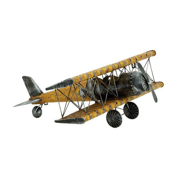 Metal Airplane Figurine