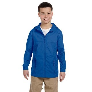 Essential Boy's Cobalt Blue Rainwear Jacket