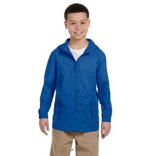 Essential Boy's Cobalt Blue Rainwear Jacket