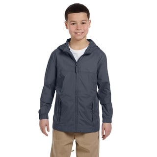 Essential Boy's Graphite Nylon Rainwear