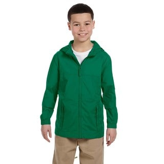 Essential Boy's Ultramarine Nylon Rainwear