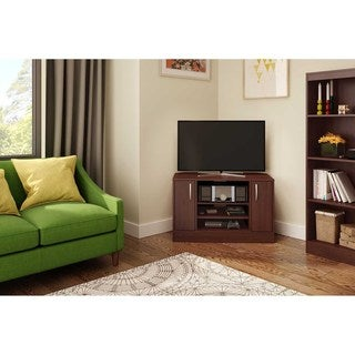 South Shore Axess Corner TV Stand with Doors for TVs up to 42''