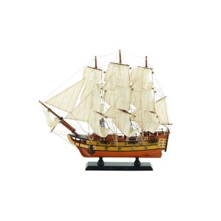 Wood Sailboat 14 Inches High x 15 Inches Wide