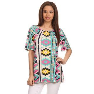 Women's Aztec Border Print Tunic