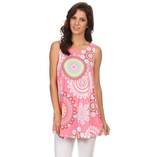 Women's Multi-Color Abstract Tunic