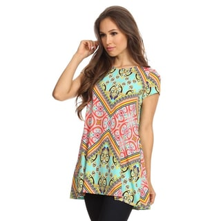Women's Multi-Color Ornate Top