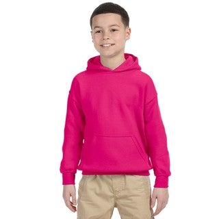Heavy Blend Boy's Heliconia Hooded Sweatshirt