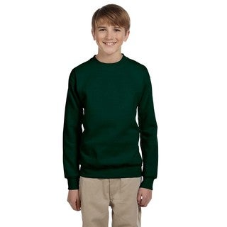 Boys' Ecosmart Comfortblend Deep Forest Crewneck Sweatshirt