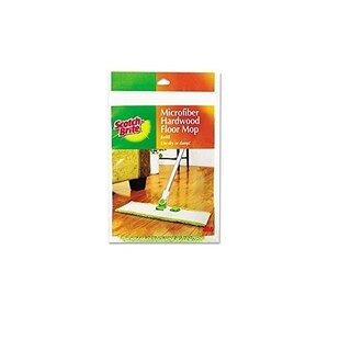 Scotch-Brite Microfiber Hardwood Floor Mop Refill M-005-R (6-count)